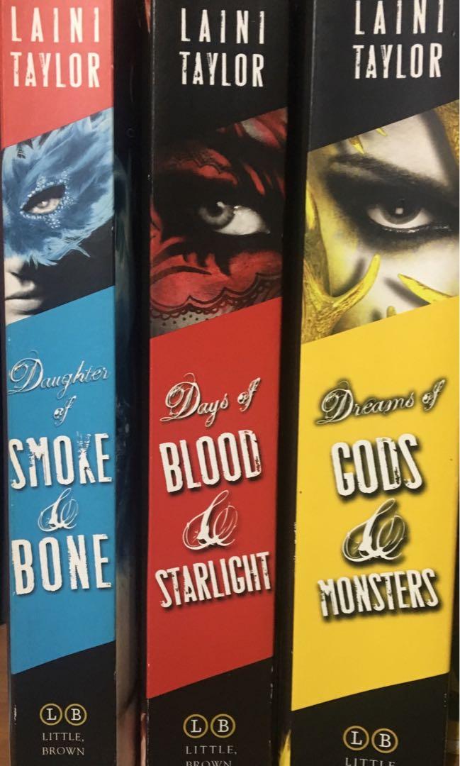 POPULAR YA SERIES - Daughter of Smoke and Bone trilogy