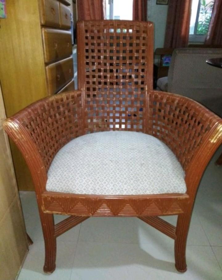 Fabulous Rattan Accent Chair On Carousell Pabps2019 Chair Design Images Pabps2019Com