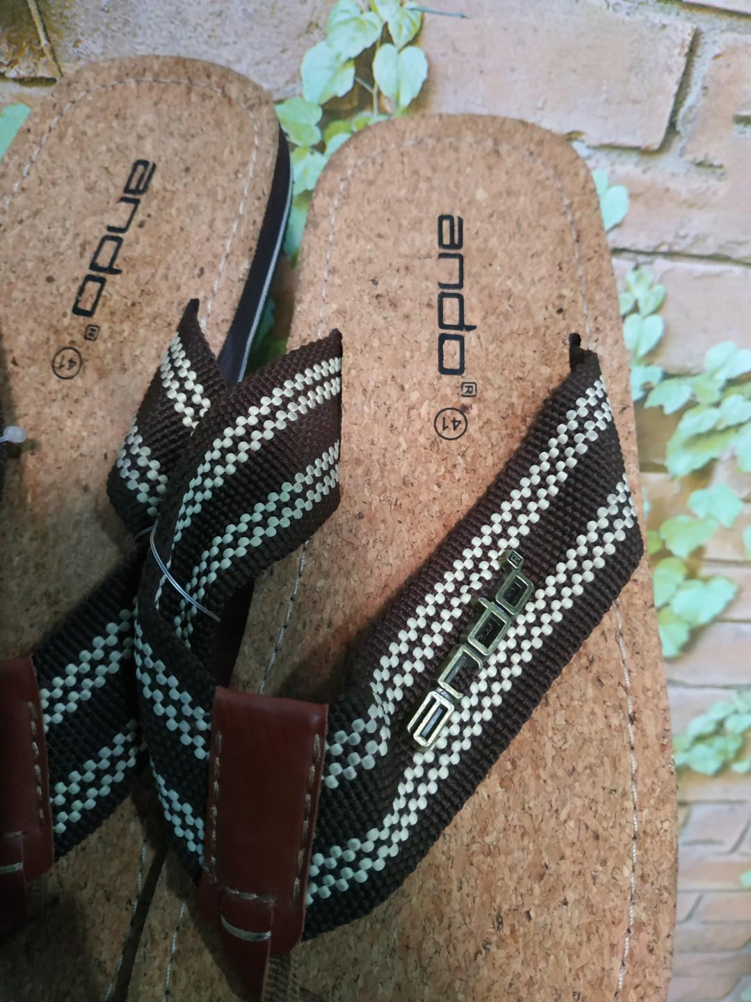 REPRICE !!! sendal ando size 41 new with tag