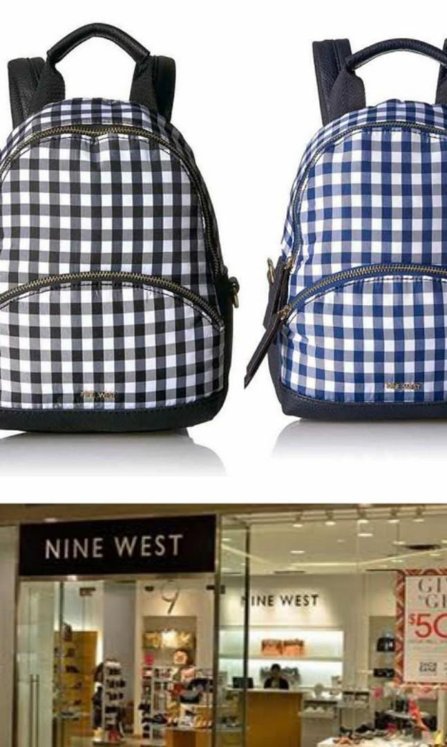 tas NINE WEST ORIGINAL back pack mini ransel fashion wanita #maugopay #joinjuli