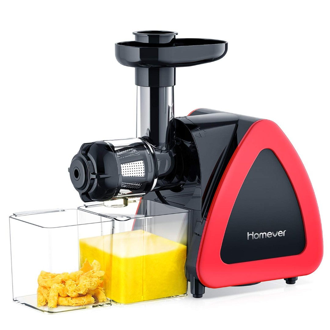 Td01 Brand New Juicer Machines Homever Slow Masticating Juicer
