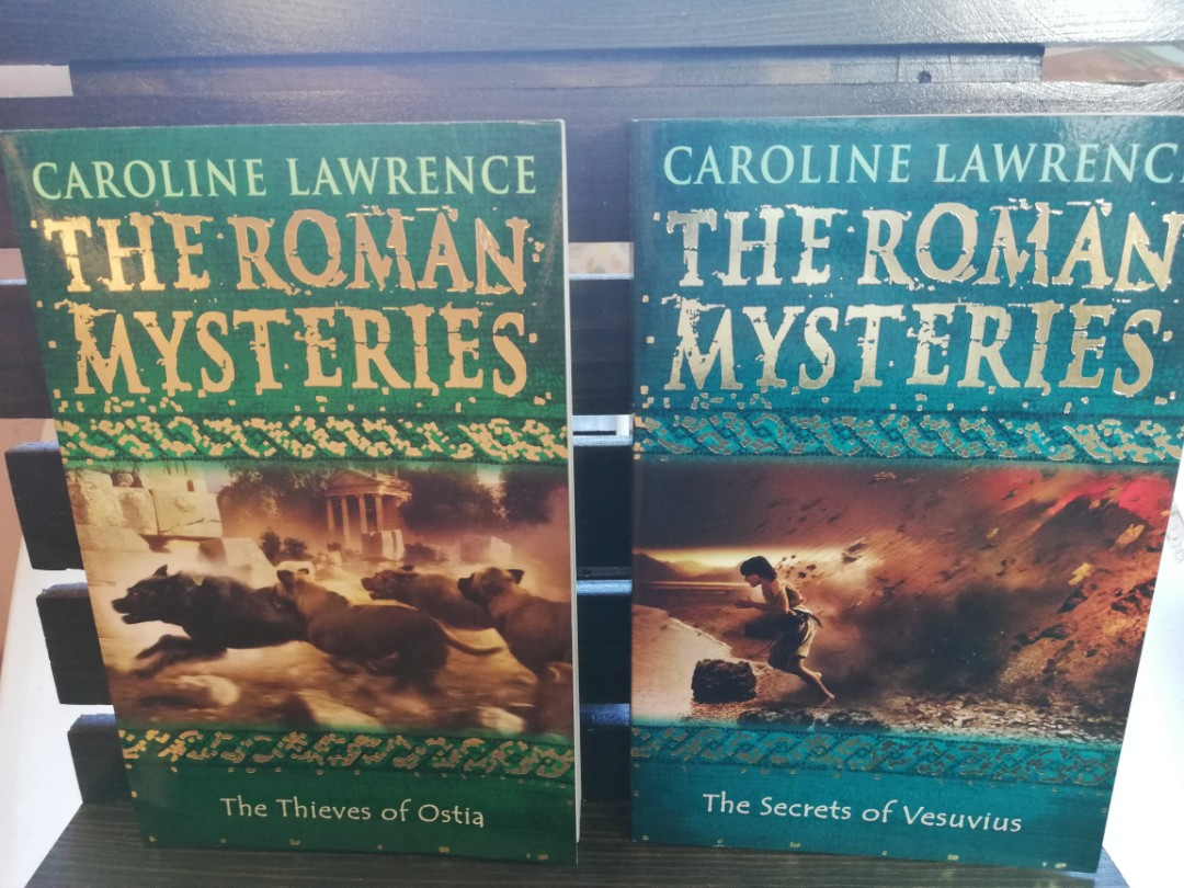 The Roman Mysteries (The Secrets of Vesuvius and the Thieves of Ostia) 2 books