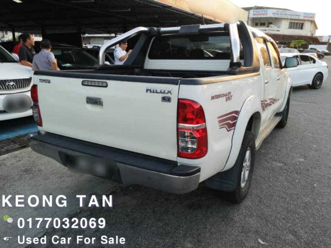 TOYOTA HILUX 2.5AT G SPEC Facelift Green Diesel Turbo 2011TH Cash💰OfferPrice💲Rm46,800 Only‼🚘 LowestPrice InJB🎉Call📲 Keong🤗