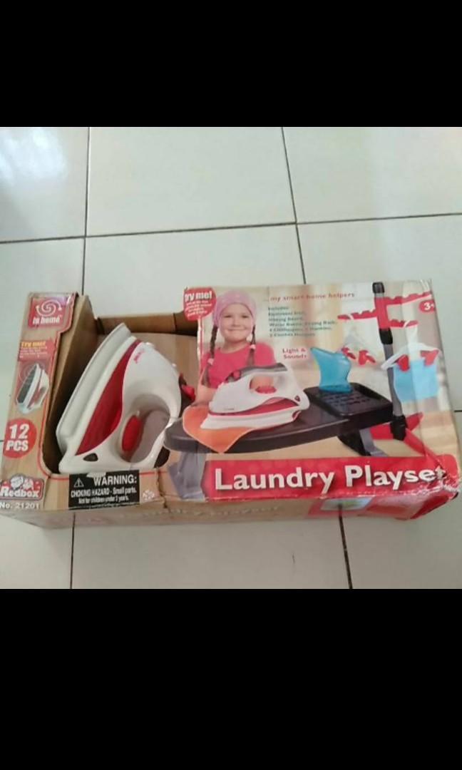 Toys laundry set