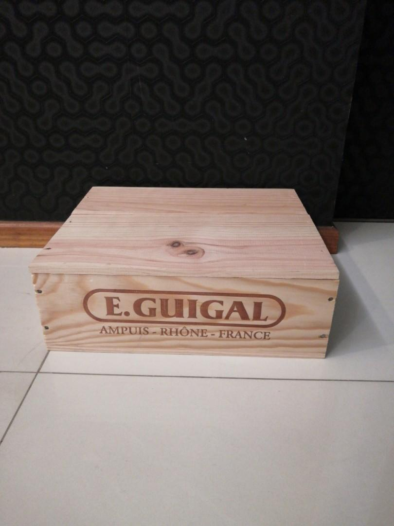 Wooden Wine Crate Or Box On Carousell