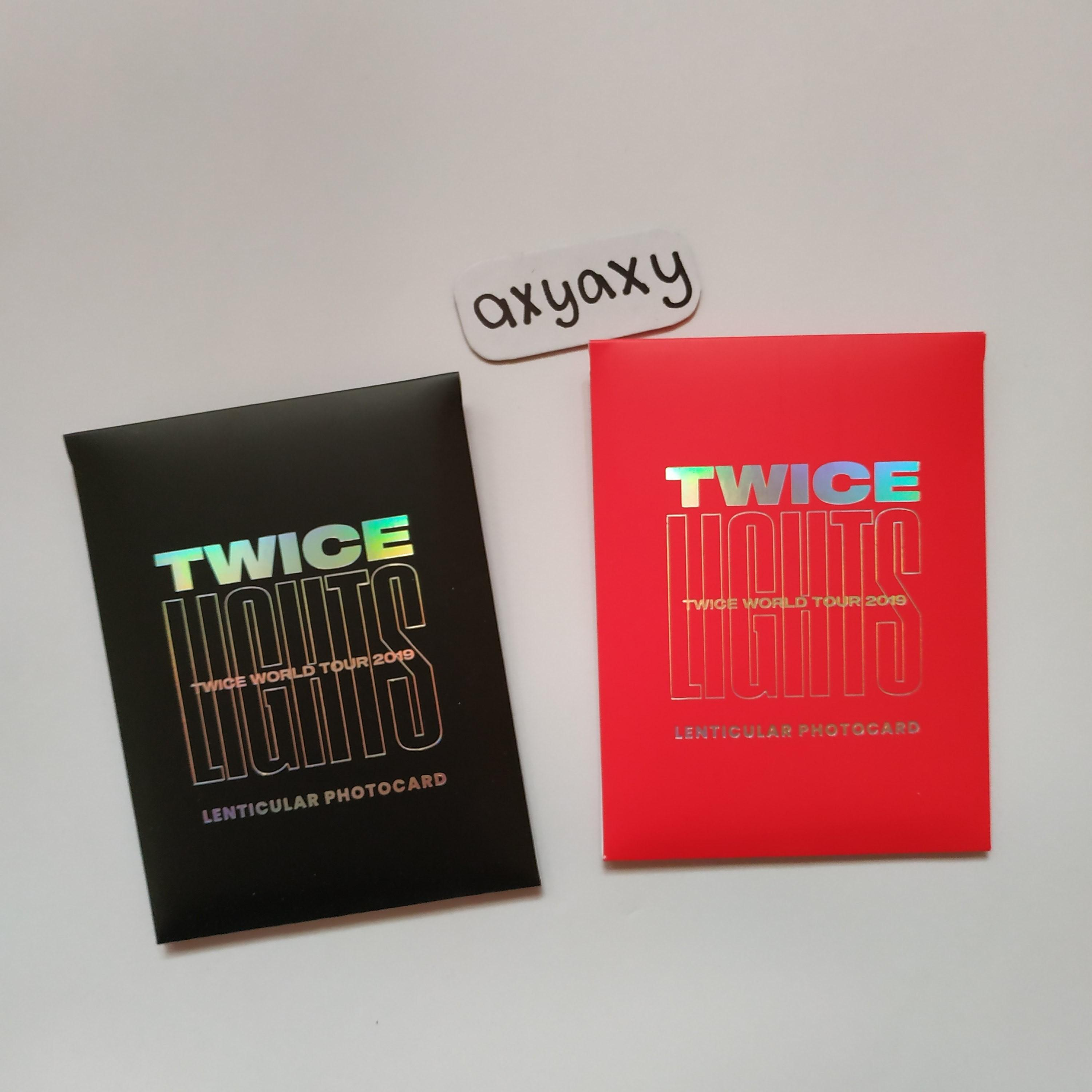 [WTS] TWICELIGHT WORLD TOUR 2019 Lenticular Official Photocard Member Set