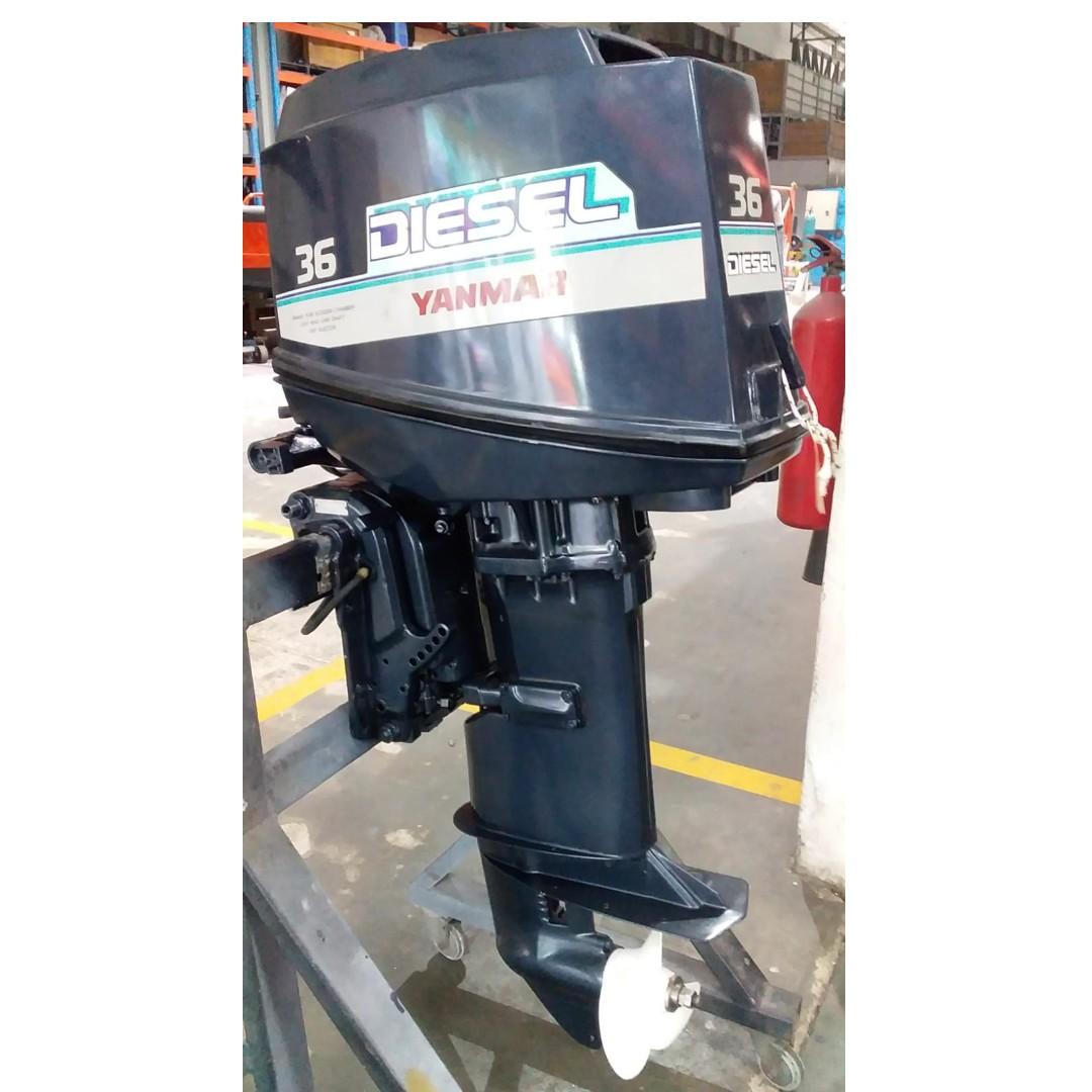 Yanmar D36 Outboard Motor (OBM) Marine Engine