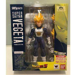 S.H. Figuarts Dragon Ball Z Super Saiyan Vegeta Premium Color Edition