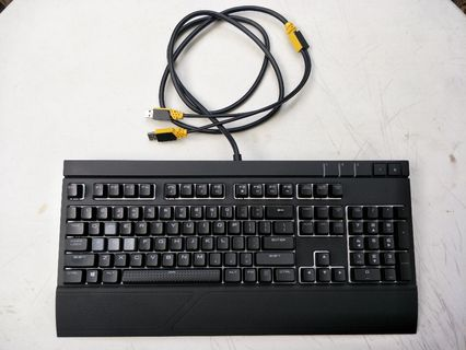 b4d1eece4a5 Corsair STRAFE RGB Mechanical Gaming Keyboard (plus Gaming Mouse Bundle)