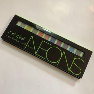 L.A. Girl Beauty Brick Eyeshadow Neons Original New #maugopay