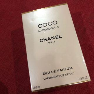 Parfume Chanel coco mademoiselle 200ml. Ori and new