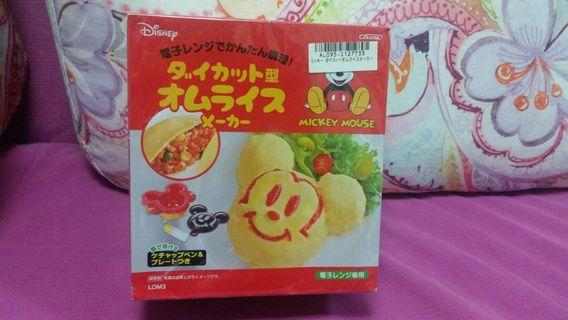 Mickey Mircowave Omelet Rice Maker 米奇蛋包飯模 ~ 日本直送