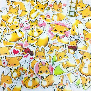 [ PO ] Cute Fox Sticker Flakes