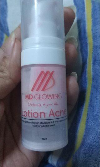 Lotion acne
