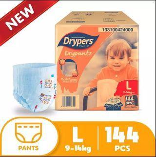Drypers pant L size