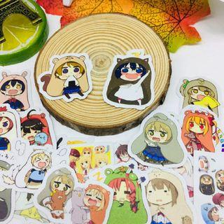 [ PO ] Cute Himouto Umaru Chan Crossover stickers