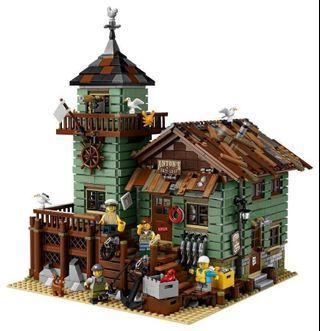 Lego 21310 全新絕版 Fishing Store