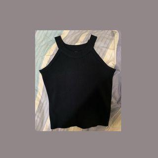 🚚 削肩針織背心 有彈性