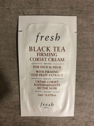 🚚 Fresh black tea firming corset cream