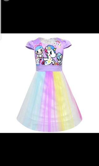 🚚 Unicorn dress