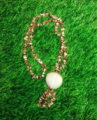 Crystal Brown Necklace