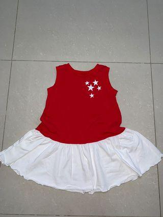 National day dress / girls/ toddlers