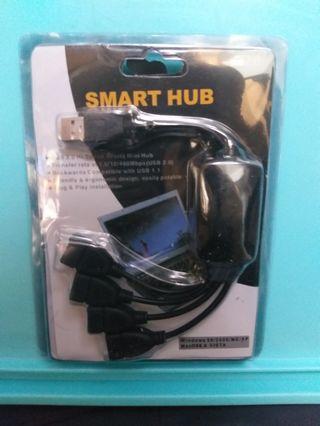 USB分線器 (1開4八爪魚) 【全新】