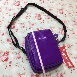 claw machine(brand new)全新未使用 娃娃機出貨 潮牌 supreme 亮紫 大容量迷你小包 側背包 #轉轉背肩包
