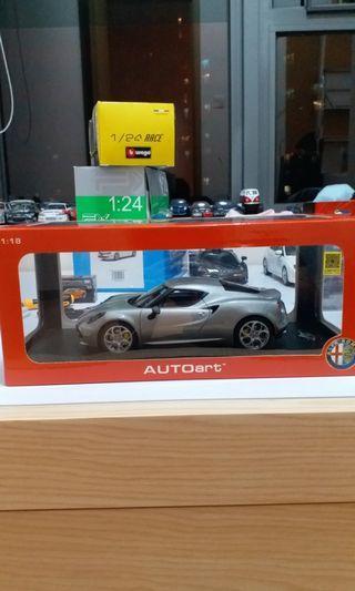 1:18 Autoart Alfa Romeo 4C