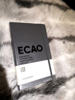 Moleskin Notebook - ECAO branded SEALED