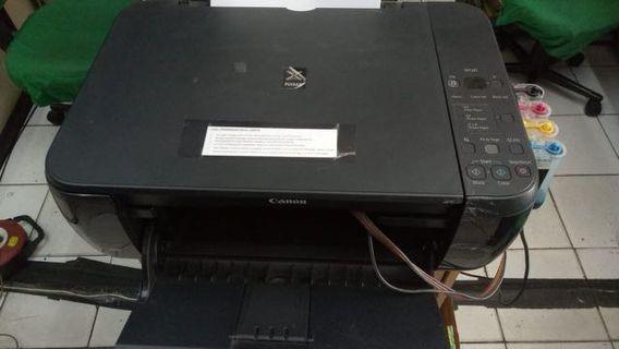 Printer Canon MP287 Infus, semua normal hanya butuh ganti kepala