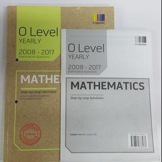 O Level Maths TYS (2008 - 2017)
