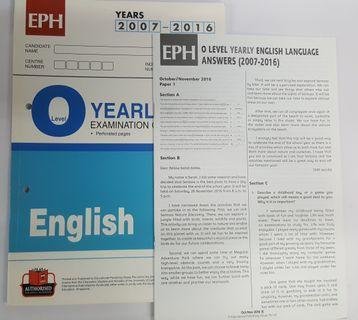 O Level English TYS (2007 - 2016)
