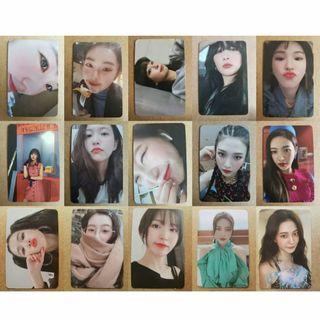 WTS Red Velvet Zimzalabim Kihno Photocard Set