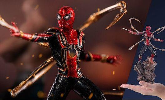 (RESERVED) IRON STUDIOS BDS ART SCALE 1/10 IRON SPIDER-MAN