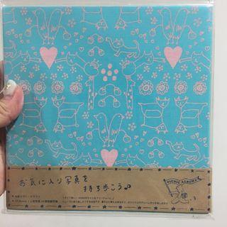 🚚 全新日本帶回 手繪寫真相本 相冊
