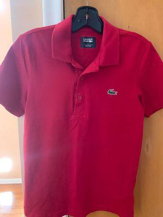 Lacoste Red Tee