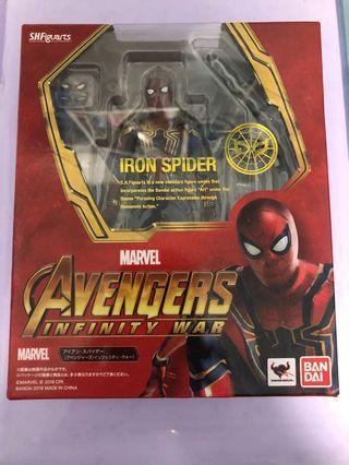 出售日版 SHF Iron Spider