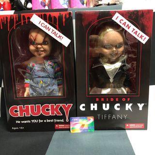 ☠️ CHUCKY TIFFANY 15'Inch BRIDE OF Child's Play 娃鬼回魂 娃鬼新娘