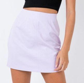 Princess Polly lilac skirt