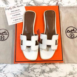 TOP GRADE PREMIUM Hermes Oran Sandals