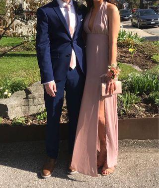 light pink/nude formal dress