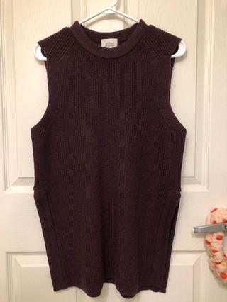 Wilfred knit vest
