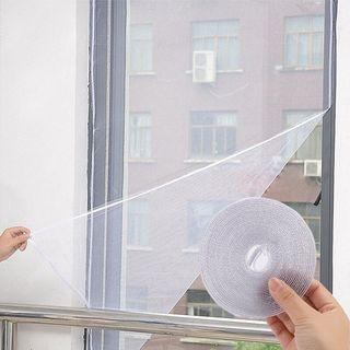 4pcs Window flyscreen insect mosquito net with velcro tape