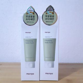 MANYO FACTORY DEEP PORE CLEANSING SODA FOAM (150 ML)●PRICE FOR 1 QTY●DIRECT SHIPMENT FROM MANYO FACTORY●