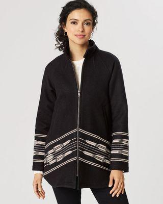NEW Pendleton Wool Swing Coat - large