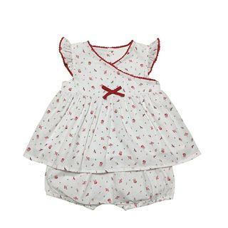 [Free Shipping] New without tag! Premium France Branded SERGENT MAJOR Kids Baby Girl Top & Pants Set (3T)