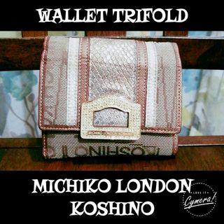 Wallet Trifold Michiko London Koshino