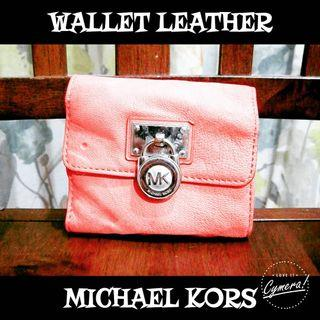 Wallet Trifold Leather Michael Kors