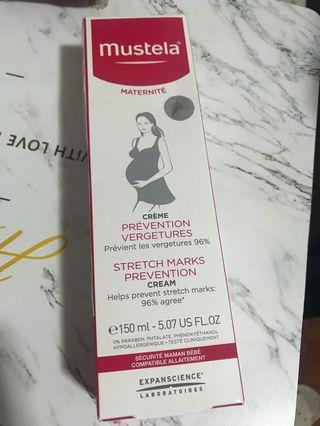 Mustela stretch marks prevention 妊娠肚紋膏